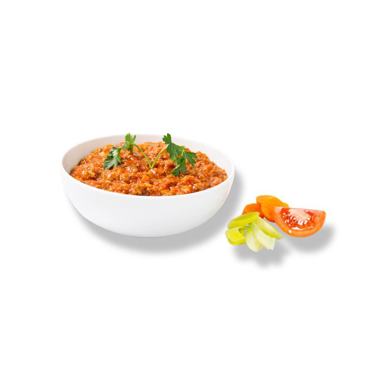 Frische Bolognese –frisch zubereitetes Fertiggericht von MENÜPLAN
