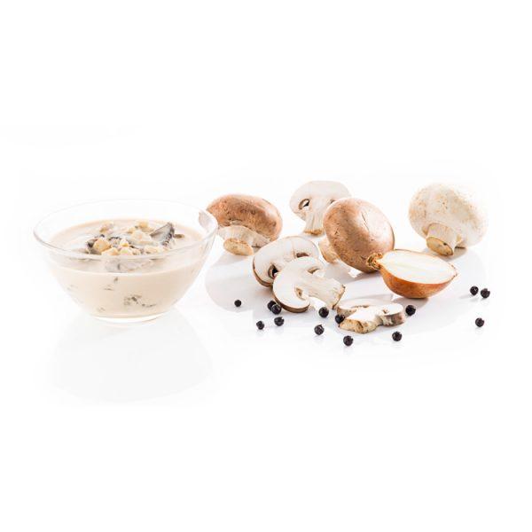 Champignon-Rahmsauce – Aus frischen Champignons für die Profiküche