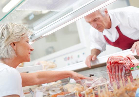 MENÜPLAN Metzgerei mit frischen Fleischwaren für smarte Convenience Produkte